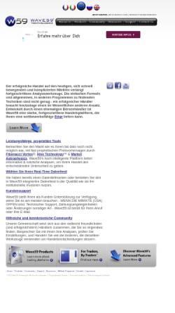 Vorschau der mobilen Webseite www.wave59.de, Wave59 RT - Uwe Friedrich
