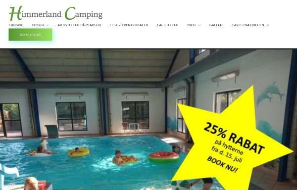 Vorschau von www.camping-himmerland.dk, Camping Himmerland - Aars