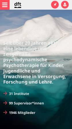 Vorschau der mobilen Webseite www.dft-online.de, DFT-Online