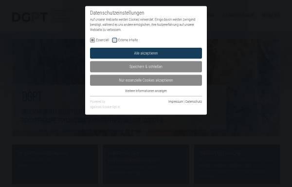 Vorschau von www.dgpt.de, DGPT
