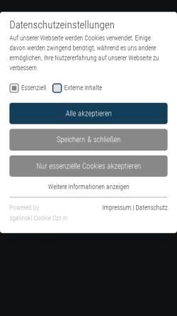 Vorschau der mobilen Webseite www.dgpt.de, DGPT
