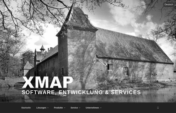Vorschau von www.x-map.de, X-map AG