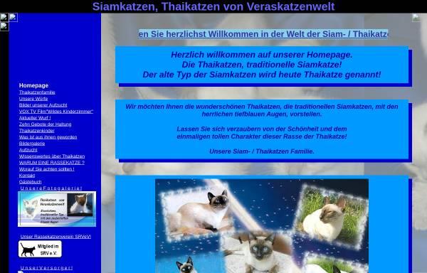 Vorschau von www.veraskatzenwelt.de, Thaikatzen von Veraskatzenwelt