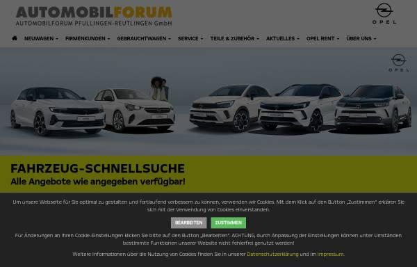 Vorschau von www.automobilforum.de, Automobilforum GmbH
