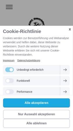 Vorschau der mobilen Webseite www.kurz-zweiraeder.de, Kurz Zweiräder