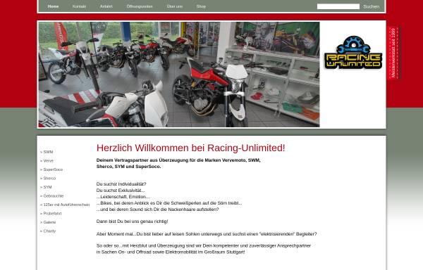 Vorschau von www.racing-unlimited.de, Racing Unlimited Motorrad-Service