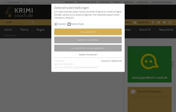 Vorschau von www.krimi-couch.de, Brigitte Aubert: Der Puppendoktor