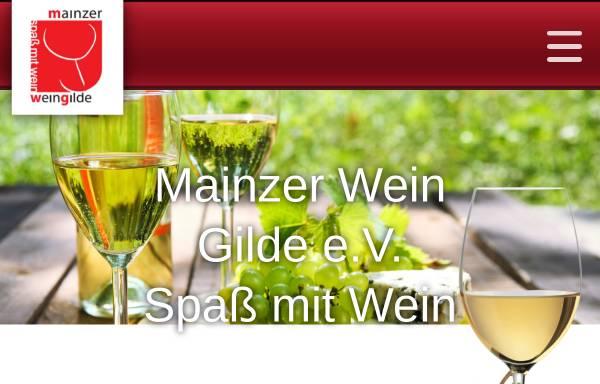 Vorschau von www.mainzer-wein-gilde.de, Mainzer Wein Gilde