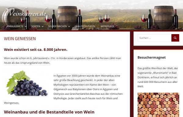Vorschau von www.weinkarren.de, Weinkarren.de