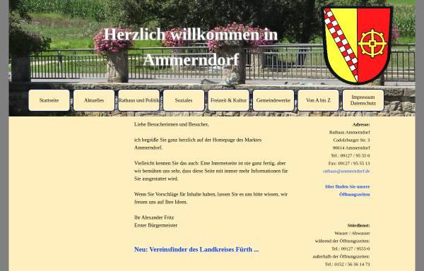 Vorschau von www.ammerndorf.de, Ammerndorf