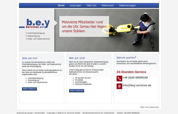 Vorschau von www.bey-services.de, b.e.y Services GmbH