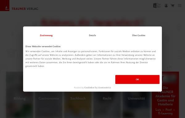 Vorschau von www.trauner.at, Trauner Verlag
