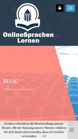 Vorschau der mobilen Webseite www.edition-deutsch.de, Klett Edition Deutsch
