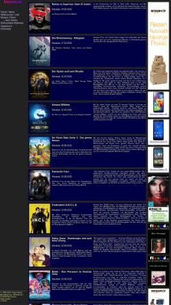 Vorschau der mobilen Webseite www.bmovie.de, Bmovie.de
