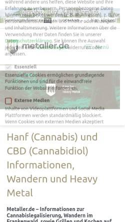 Vorschau der mobilen Webseite www.film-zeit.de, Film-zeit.de