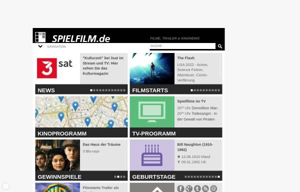 Vorschau von www.spielfilm.de, Spielfilm.de