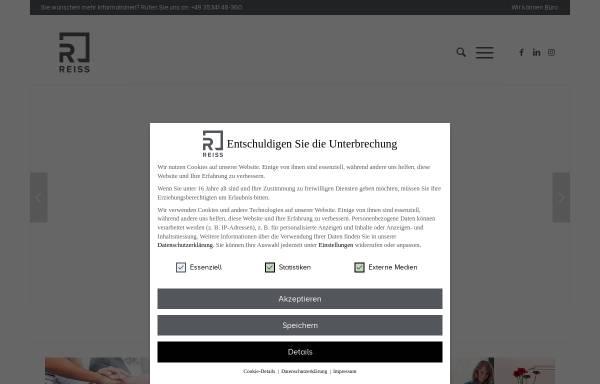 REISS Büromöbel GmbH: Wirtschaft, Bad Liebenwerda reiss-bueromoebel.de