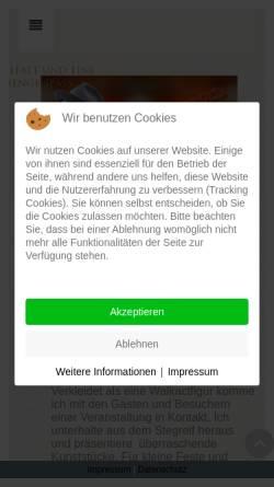 Vorschau der mobilen Webseite www.walkact24.de, Remmert, Michael