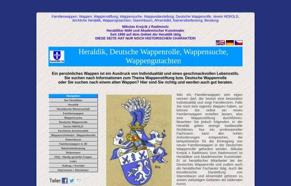 Vorschau von www.heraldik-1a.com, Heraldik-1a