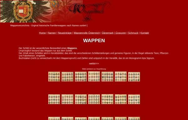 Vorschau von www.wappenbuch.de, Wappenbuch