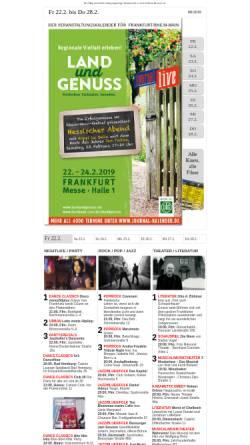 Vorschau der mobilen Webseite www.frankfurt-fuer-mich.de, Frankfurt für mich