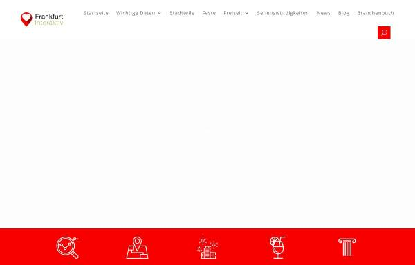 Vorschau von frankfurt-interaktiv.de, Frankfurt inter@ktiv