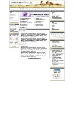 Vorschau der mobilen Webseite www.frankfurt-online.de, Frankfurt-Online