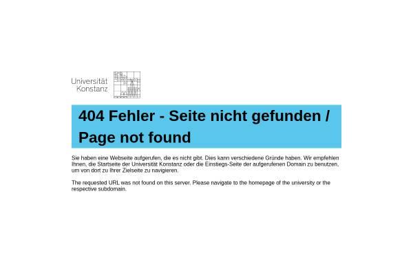 Vorschau von www.uni-konstanz.de, Evaluation von Lehrmethoden und bildungspolitischen Maßnahmen