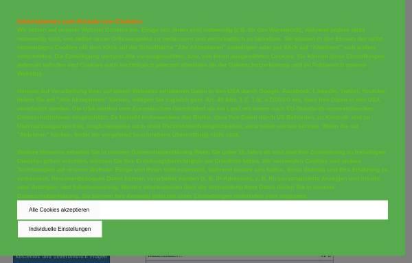 Vorschau von www.gutachterundsachverstaendige.de, Sachverständigenverzeichnis Deutschland