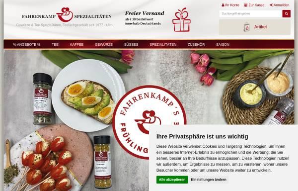 Vorschau von www.fahrenkamp.de, Fahrenkamp