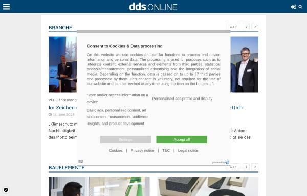 Vorschau von www.dds-online.de, DDS-Online