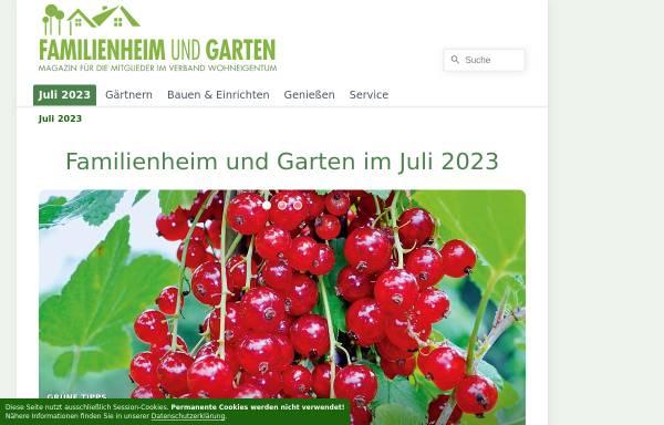 Familienheim und Garten: Zeitschriften und Online-Magazine, Medien ...