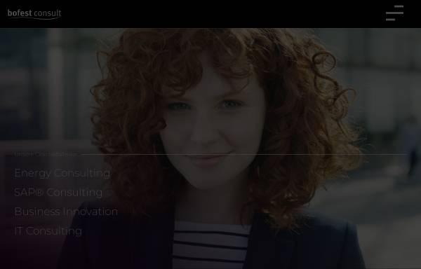 Vorschau von www.bofestconsult.com, Bofest Consult GmbH