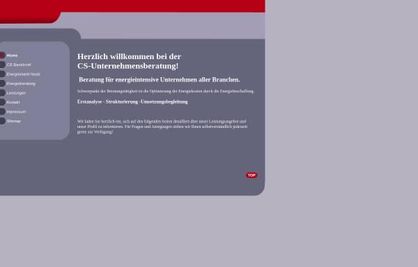 Vorschau von cs-consultant.de, CS-Unternehmensberatung