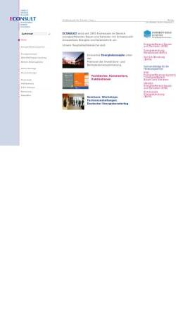 Vorschau der mobilen Webseite www.3econsult.de, Econsult Umwelt Energie Bildung GbR