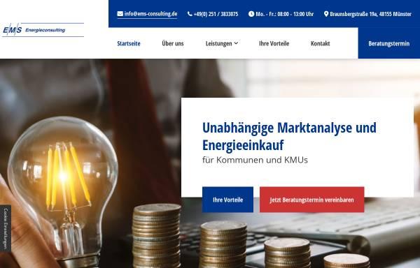 Vorschau von www.ems-consulting.de, E/M/S Energieconsulting GbR