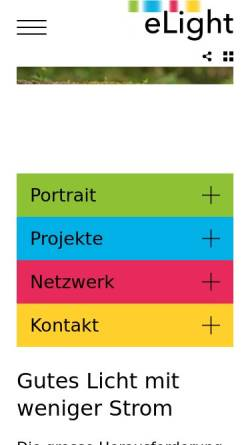 Vorschau der mobilen Webseite www.eteam.ch, eTeam GmbH