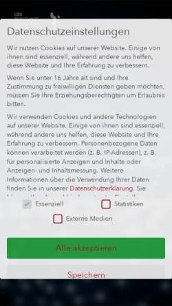 Vorschau der mobilen Webseite www.lbd.de, LBD-Beratungsgesellschaft mbH