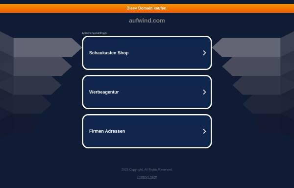Vorschau von www.aufwind.com, Aufwind Schmack GmbH - Neue Energien