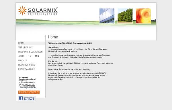 Vorschau von www.solarmix.de, Solarmix Bio Energiesysteme, Inh. Ralf Schröder