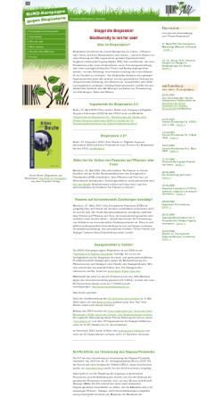 Vorschau der mobilen Webseite www.biopiraterie.de, Biopiraterie