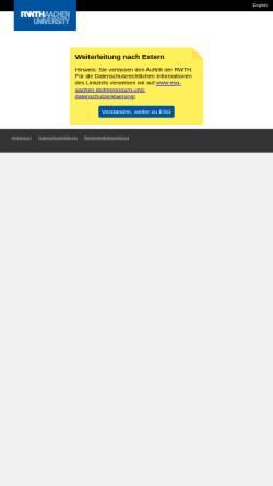 Vorschau der mobilen Webseite www.rwth-aachen.de, Evangelische Studierenden Gemeinde Aachen (ESG)