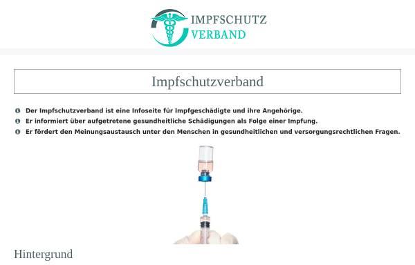 Vorschau von www.impfschutzverband.de, Schutzverband für Impfgeschädigte e.V.