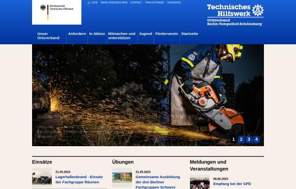 Vorschau von ov-berlin-tempelhof-schoeneberg.ov-cms.thw.de, THW - Ortsverband Tempelhof-Schöneberg