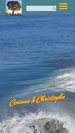 Vorschau der mobilen Webseite coch.ch, Müller, Corinne und Christophe