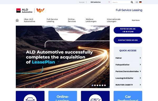Vorschau von www.aldautomotive.de, ALD AutoLeasing D GmbH