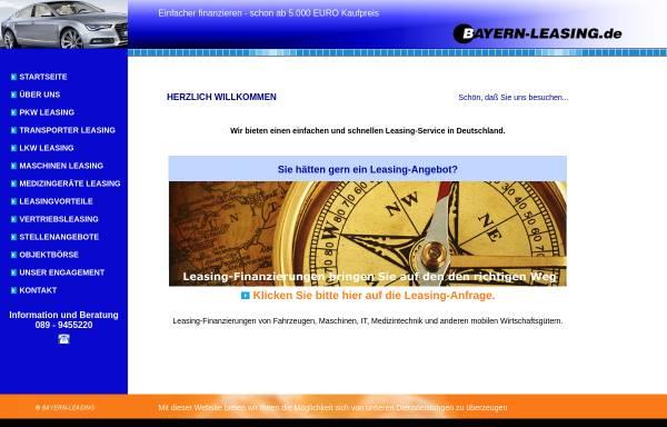 Vorschau von www.bayern-leasing.de, BL Bayern-Leasing GmbH