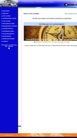 Vorschau der mobilen Webseite www.bayern-leasing.de, BL Bayern-Leasing GmbH