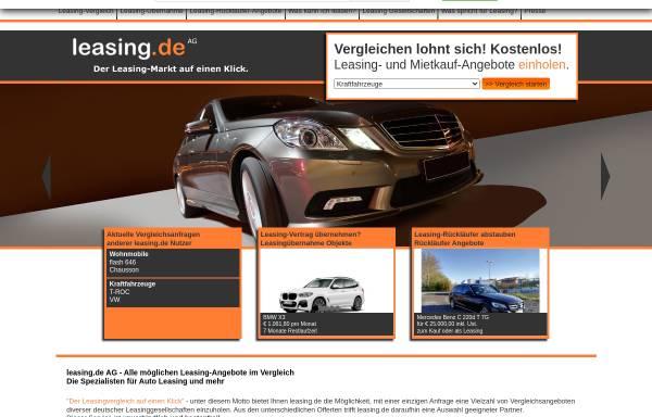 Vorschau von www.leasing.de, Leasing.de AG