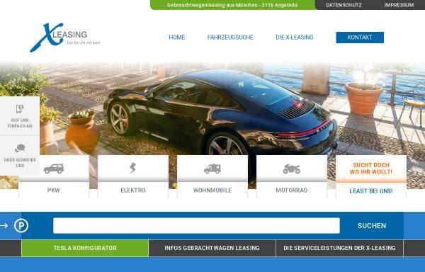Vorschau von www.x-leasing.de, X-Leasing GmbH